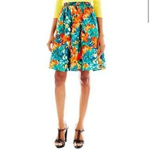 Duro Olowu Floral Skirt